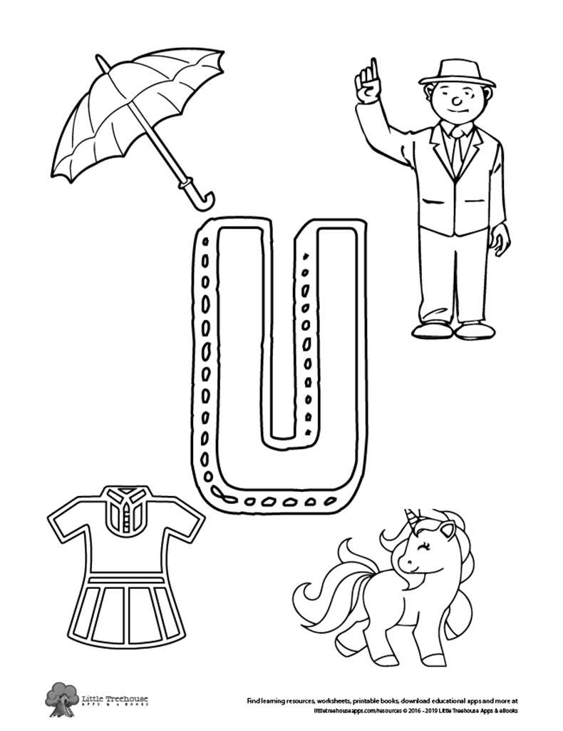 U Is For