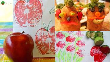 Fruits and Vegetable Craft Ideas for Kids for Fun & Learning