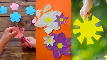 How can Kids Make Beautiful Paper Flowers Easily?
