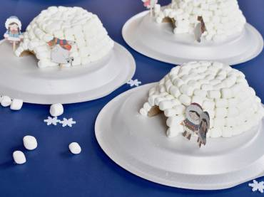 Winter Fun for Kids- Create an Amazing Marshmallow Igloo Craft