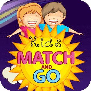 Kids Match and Go Cards Game