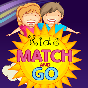 Match & Go Matching Cards Game- Kids Learning Game